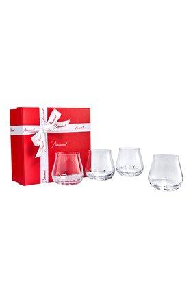 Набор из 4-х стаканов для виски faunacrystopolis BACCARAT прозрачного цвета, арт. 2 814 273 | Фото 1