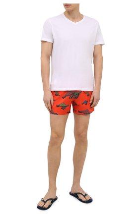 Мужские плавки-шорты VILEBREQUIN красного цвета, арт. MSOH0F12/193 | Фото 2