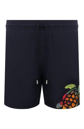 Мужские плавки-шорты VILEBREQUIN темно-синего цвета, арт. MOTH0C03/390 | Фото 1
