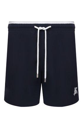 Мужские плавки-шорты VILEBREQUIN темно-синего цвета, арт. MOKH0A01/390 | Фото 1