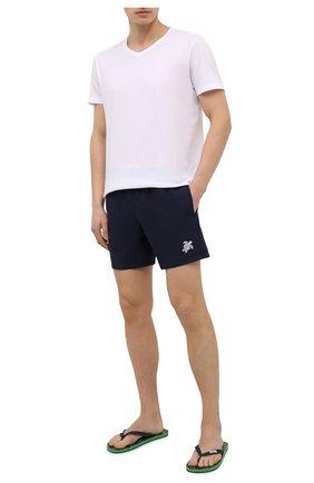 Мужские плавки-шорты VILEBREQUIN темно-синего цвета, арт. MOKH0A01/390 | Фото 2