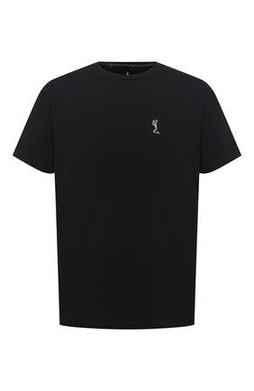Мужская хлопковая футболка RELIGION черного цвета, арт. MCPPLN96 | Фото 1