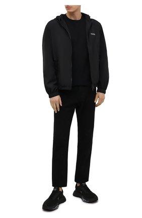 Мужская хлопковая футболка RELIGION черного цвета, арт. MCPPLN96 | Фото 2