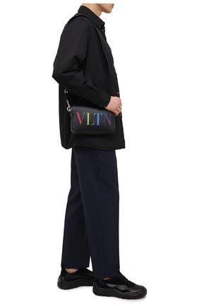 Кожаная сумка VLTN | Фото №2