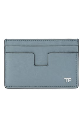 Мужской кожаный футляр для кредитных карт TOM FORD синего цвета, арт. Y0232P-LCL053 | Фото 1