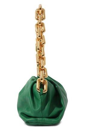 Женская сумка chain pouch BOTTEGA VENETA зеленого цвета, арт. 620230/VCP40   Фото 4