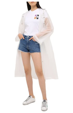 Женские кожаные кеды superstar GOLDEN GOOSE DELUXE BRAND белого цвета, арт. GWF00101.F000212 | Фото 2