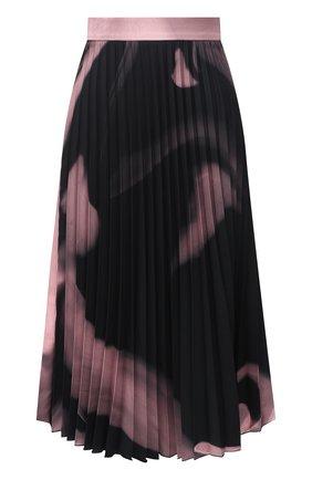 Женская плиссированная юбка OFF-WHITE розового цвета, арт. 0WCC056R21FAB001 | Фото 1