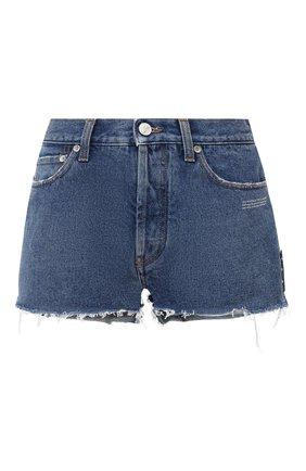 Женские джинсовые шорты OFF-WHITE синего цвета, арт. 0WYC002R21DEN001 | Фото 1