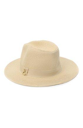 Женская шляпа fedora MELISSA ODABASH кремвого цвета, арт. FED0RA | Фото 2