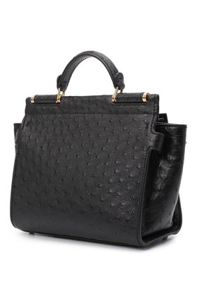 Женская сумка 62 sicily DOLCE & GABBANA черного цвета, арт. BB6960/A8M41 | Фото 3