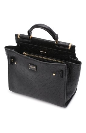 Женская сумка 62 sicily DOLCE & GABBANA черного цвета, арт. BB6960/A8M41 | Фото 4