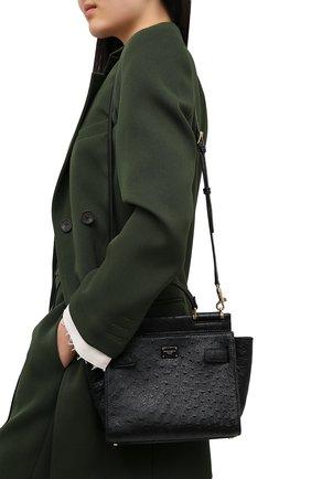 Женская сумка 62 sicily DOLCE & GABBANA черного цвета, арт. BB6960/A8M41 | Фото 5
