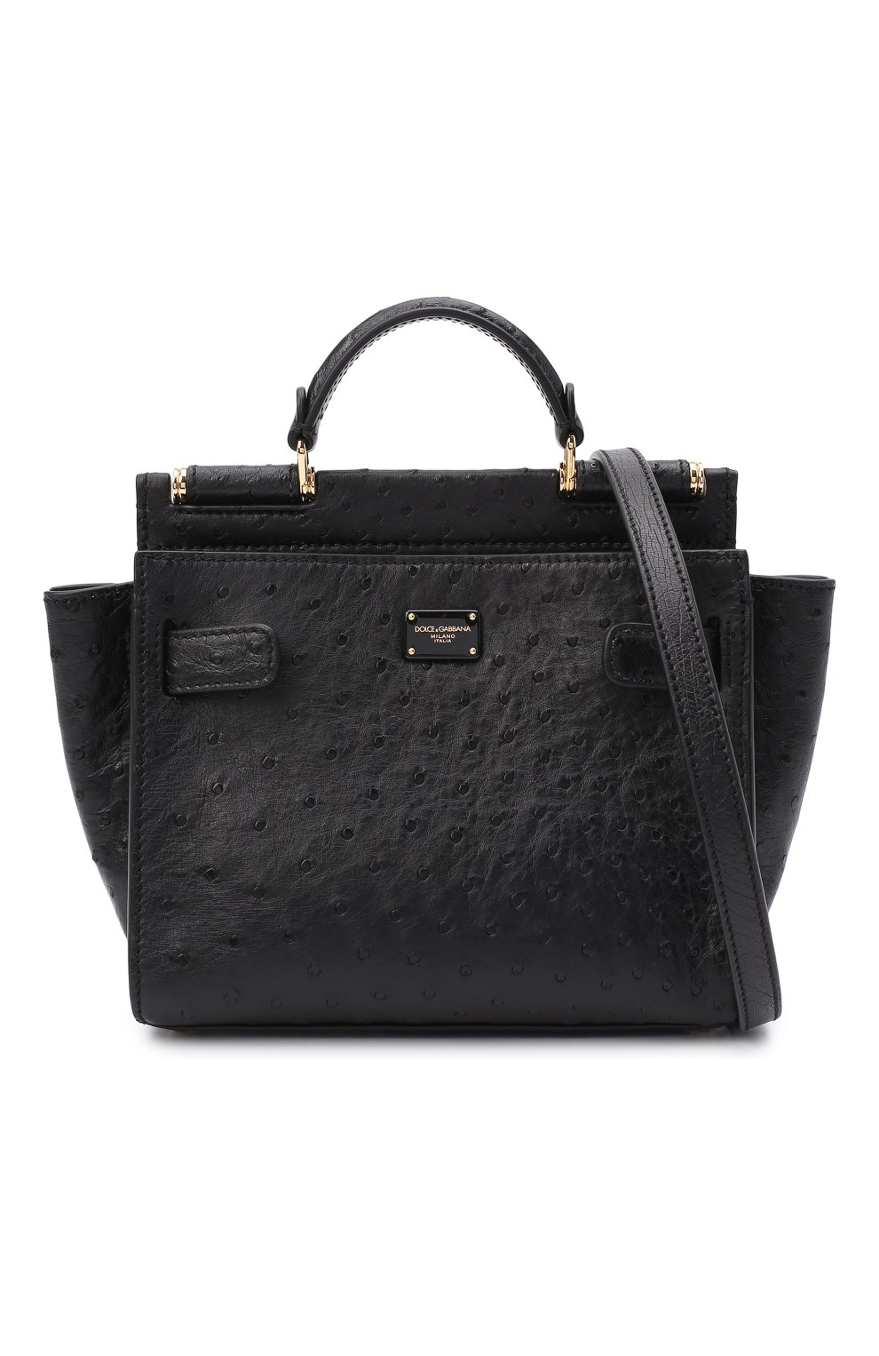Женская сумка 62 sicily DOLCE & GABBANA черного цвета, арт. BB6960/A8M41 | Фото 6