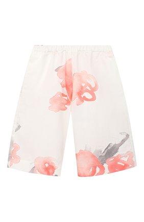 Детские хлопковые брюки EMPORIO ARMANI розового цвета, арт. 3KEP08/3N4DZ | Фото 1