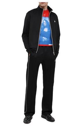 Мужской толстовка MARCELO BURLON черного цвета, арт. CMBD007R21JER001 | Фото 2