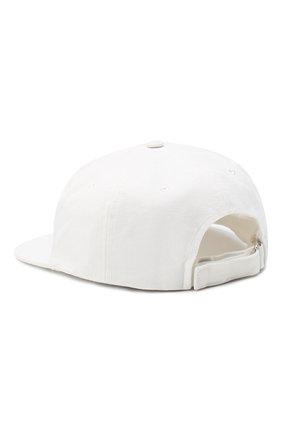 Мужской хлопковая бейсболка OFF-WHITE белого цвета, арт. 0MLB022R21FAB004/W   Фото 2 (Материал: Хлопок, Текстиль)
