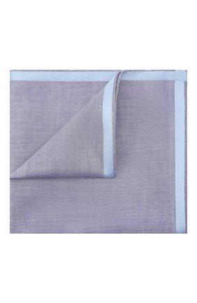 Мужской хлопковый платок SIMONNOT-GODARD темно-синего цвета, арт. AMALFI | Фото 1 (Материал: Текстиль, Хлопок)
