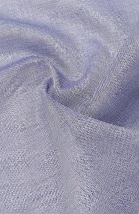 Мужской хлопковый платок SIMONNOT-GODARD темно-синего цвета, арт. AMALFI | Фото 2 (Материал: Текстиль, Хлопок)