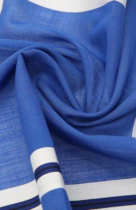 Мужской хлопковый платок SIMONNOT-GODARD синего цвета, арт. C0NNEMARA | Фото 2 (Материал: Текстиль, Хлопок)