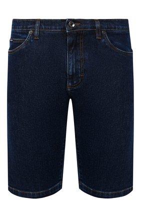 Мужские джинсовые шорты DOLCE & GABBANA синего цвета, арт. GY4JED/G8DN0 | Фото 1