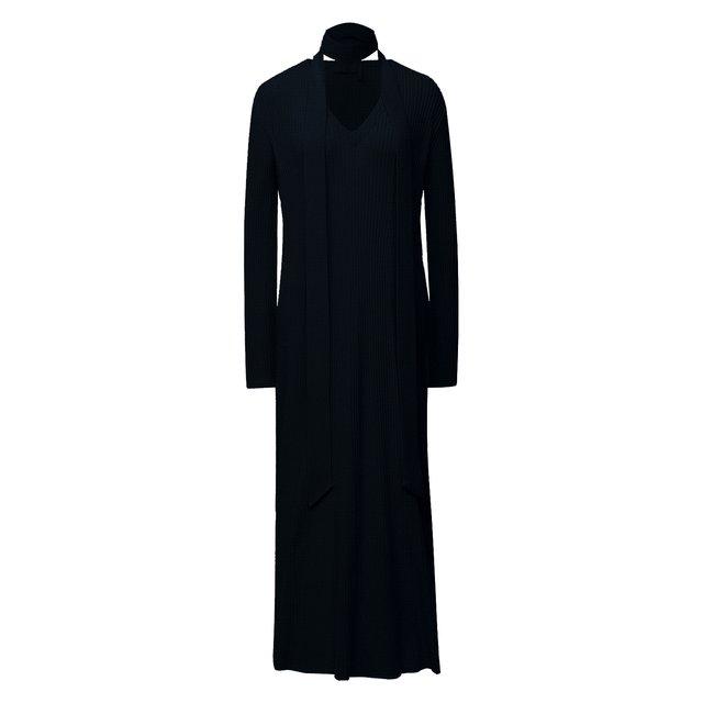 Платье из шерсти и кашемира Chloé