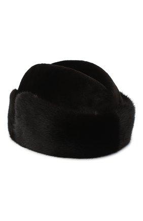 Мужская шапка из меха норки KUSSENKOVV темно-коричневого цвета, арт. 420210204125 | Фото 2