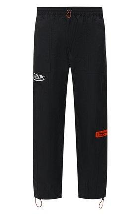 Мужские брюки HERON PRESTON черного цвета, арт. HMCA022R21FAB0011001 | Фото 1