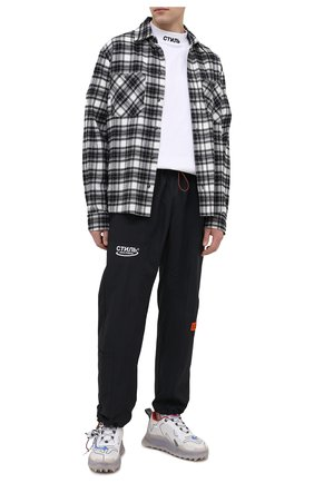 Мужские брюки HERON PRESTON черного цвета, арт. HMCA022R21FAB0011001 | Фото 2