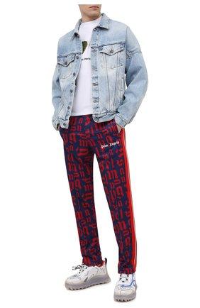 Мужские брюки PALM ANGELS разноцветного цвета, арт. PMCA007R21FAB0024525 | Фото 2