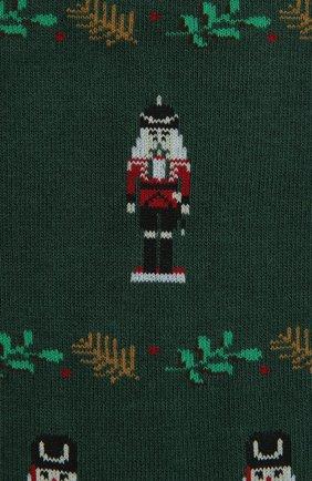 Мужские носки PANTHERELLA зеленого цвета, арт. YS4058 | Фото 2
