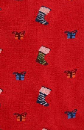 Мужские носки PANTHERELLA красного цвета, арт. YS4059 | Фото 2