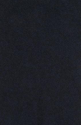 Женские шерстяные носки FALKE темно-синего цвета, арт. 46583 | Фото 2