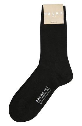 Женские шерстяные носки FALKE черного цвета, арт. 46583   Фото 1