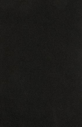 Женские шерстяные носки FALKE черного цвета, арт. 46583   Фото 2