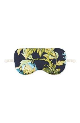 Женские шелковая маска для сна OLIVIA VON HALLE разноцветного цвета, арт. PS2157 | Фото 1 (Материал внешний: Шелк)