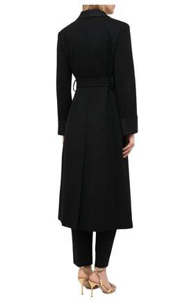 Женское шерстяное пальто MIU MIU черного цвета, арт. MS1798-1R1-F0002   Фото 4