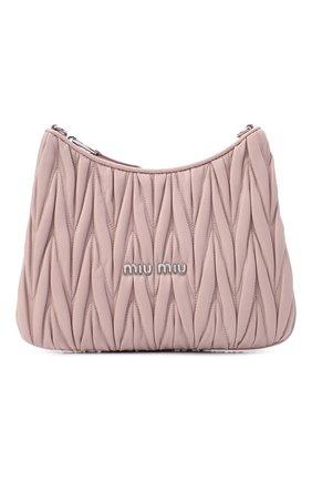 Женская сумка MIU MIU розового цвета, арт. 5BH189-2CE3-F0D91-OOO | Фото 1