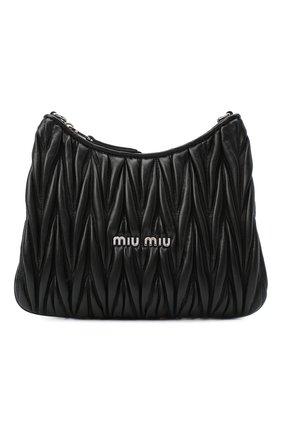 Женская сумка MIU MIU черного цвета, арт. 5BH189-2CE3-F0002-OOO | Фото 1