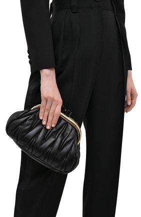 Женский клатч MIU MIU черного цвета, арт. 5BK011-N88-F0002-OOO | Фото 2