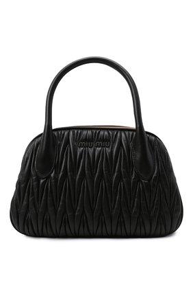 Женская сумка MIU MIU черного цвета, арт. 5BK016-N88-F0002-OOO | Фото 1