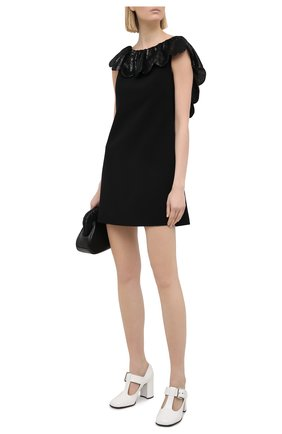 Женское платье MIU MIU черного цвета, арт. MF3851-1XDV-F0002   Фото 2