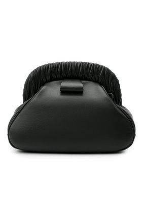 Женский клатч MIU MIU черного цвета, арт. 5BF110-2C9O-F0002-OOO   Фото 1