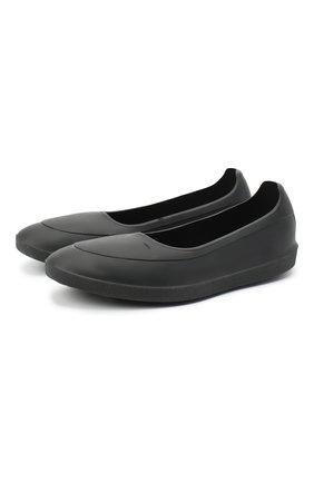 Мужские галоши SWIMS черного цвета, арт. 11106 | Фото 1 (Материал внешний: Резина)