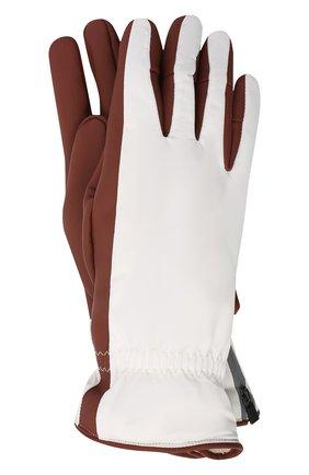Мужские утепленные перчатки LORO PIANA бордового цвета, арт. FAI9728 | Фото 1