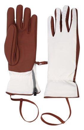 Мужские утепленные перчатки LORO PIANA бордового цвета, арт. FAI9728 | Фото 2