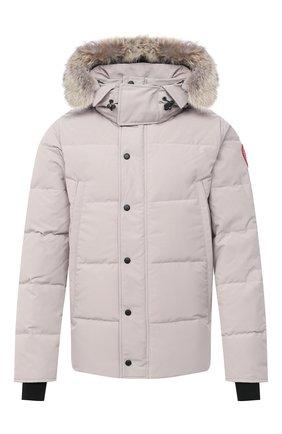 Мужская пуховая куртка wyndham CANADA GOOSE светло-серого цвета, арт. 3808M | Фото 1