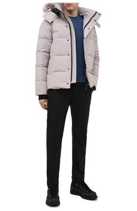 Мужская пуховая куртка wyndham CANADA GOOSE светло-серого цвета, арт. 3808M | Фото 2