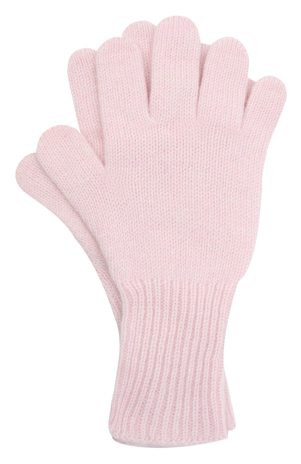 Детские кашемировые перчатки GIORGETTI CASHMERE розового цвета, арт. MB1699/14A | Фото 1
