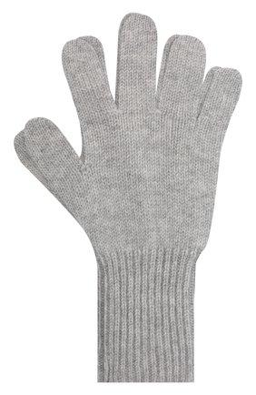Детские кашемировые перчатки GIORGETTI CASHMERE светло-серого цвета, арт. MB1699/14A | Фото 1